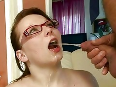 grandpa fucking and pissing on nasty busty girl