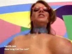 mother fucker gets a creampie