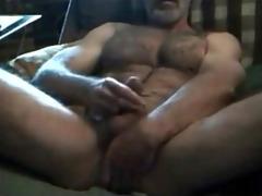 brawny bushy horny str8 daddy! sexy verbal talkin