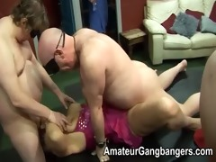 older men lick and fuck younger sweethearts