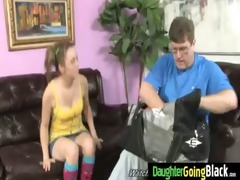 watchung my daughter getting screwed by black