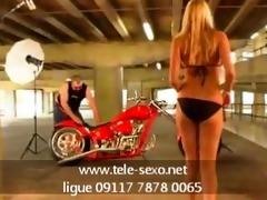 motorcycle can blond www.tele-sexo.net 09117 7878
