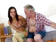 old stud seducing juvenile girl