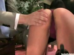 oriental chick loves daddy rough
