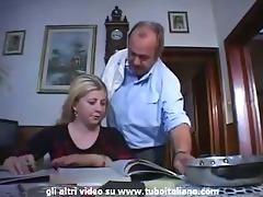 italian incest blonde teen fucked by daddy
