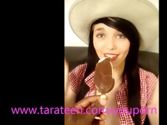tara legal age teenager chokes on big ice lolly