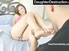 sweet teen daughter copulates like a pro