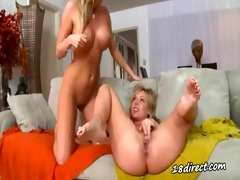 silver tongues and large black dildos 0031