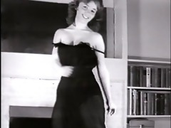 little sister - vintage striptease dance petite