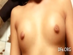 virgin angel masturbates