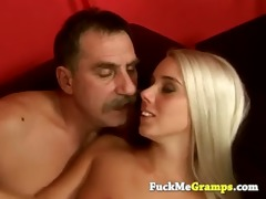 old hairy guy fucking stunning blond