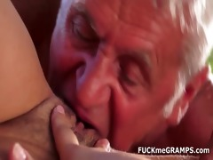 tamia fucks two real old chaps