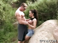 legal age teenager honey is fucked
