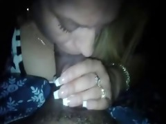 latina mother of 3 sucks my cock