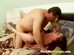 old man has juvenile girlfriend
