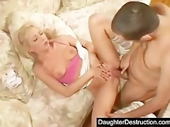 her first giant cock up her ass