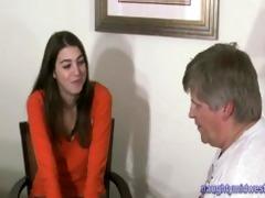 marie 19 yo. bushy hippy girl babysitter interview