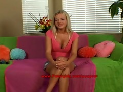 bree olson first nude modeling try-out