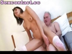 old man bonks juvenile hookup amateur babe