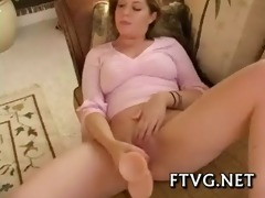 playgirl plays with dildos